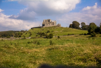 View of Rock of Cashel from Hore Abbey