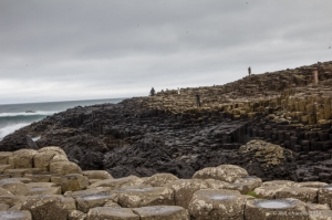 Three types of columns of Giant's Causeway